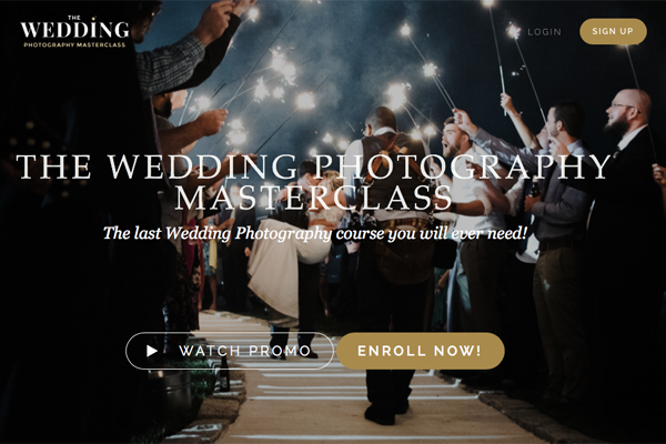 Wedding Photography Master Class