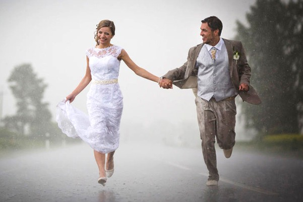 What if it rains on our wedding day?